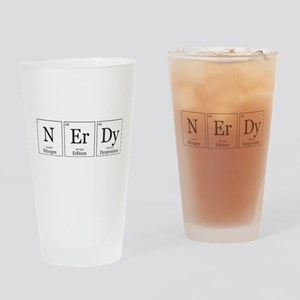 NErDy [Chemical Elements] Drinking Glass